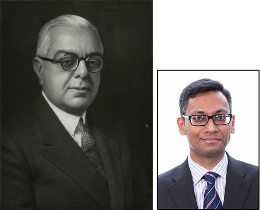 Wafi Momin and Aga Khan III