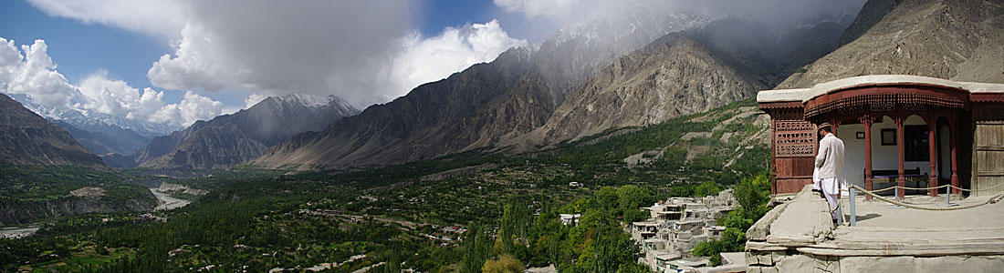 Baltit Fort Panorama