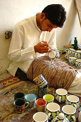 Multan Ceramic Painter