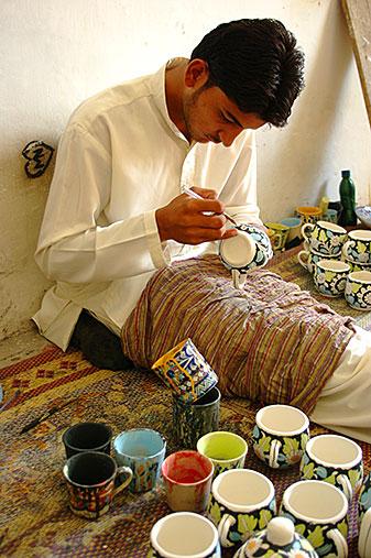 Multan Ceramic Painter